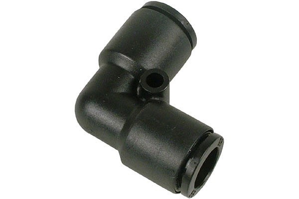 8mm L plug fitting black