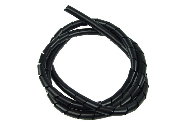 spiral wrap sleeving 6.0mm black