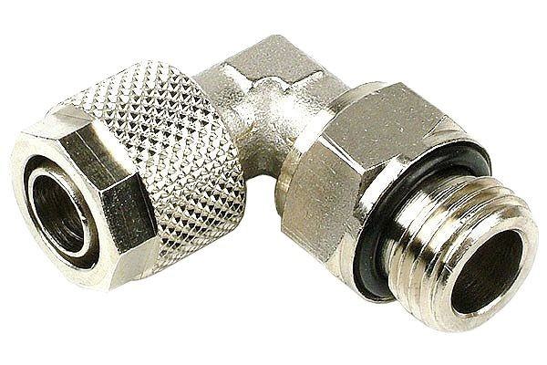 10/8mm (8x1mm) compression fitting G1/4 90° revolvable type 2