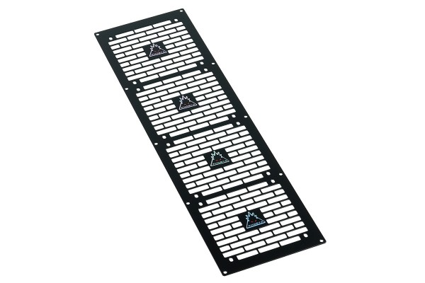 Phobya radiator grill quad (480) - Bricky - black