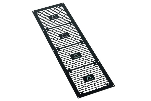 Phobya radiator grill Quad (560) - Bricky - black