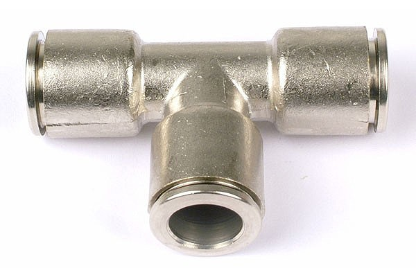 T-plug-in fitting complete nickel coated